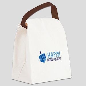 HAPPY HANUKKAH! Canvas Lunch Bag