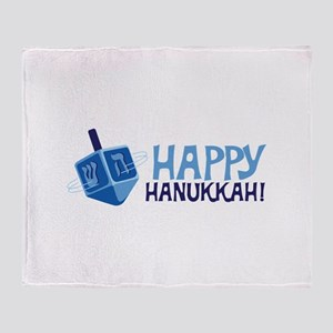 HAPPY HANUKKAH! Throw Blanket