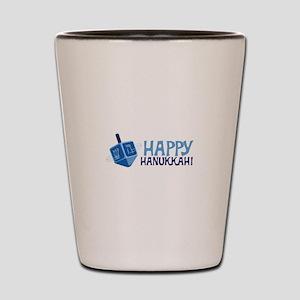HAPPY HANUKKAH! Shot Glass