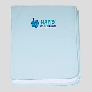 HAPPY HANUKKAH! baby blanket