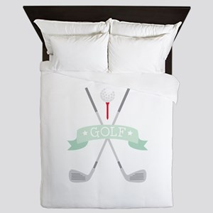 * GOLF * Queen Duvet