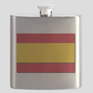 Spain Civil Flag Flask