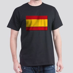 Spain Civil Flag Dark T-Shirt