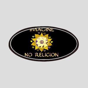 Imagine No Religion Patch