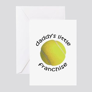 Tennis clothes for baby greeting cards cafepress tennis dads franchise greeting cards package o m4hsunfo