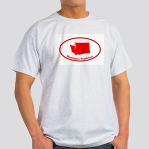 Washington RED STATE Light T-Shirt