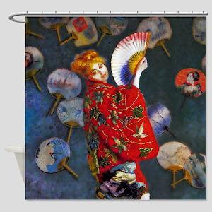 Monet: La Japonaise Shower Curtain