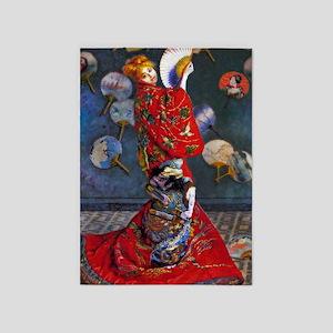 Monet: La Japonaise 5'x7'Area Rug