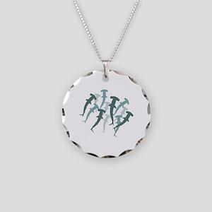 Hammerhead School Necklace