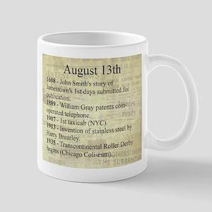 August 13th Mugs