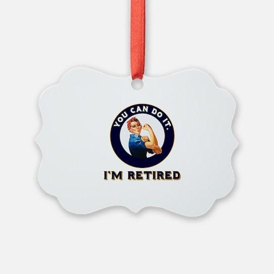 Rosie Retired Riveter Ornament