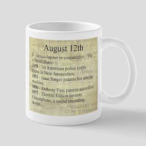August 12th Mugs