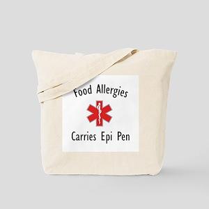 Food Allergies/Epi Pen Tote Bag
