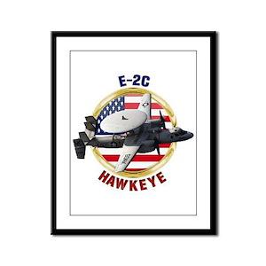 E-2C Hawkeye Framed Panel Print