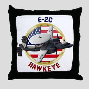 E-2C Hawkeye Throw Pillow