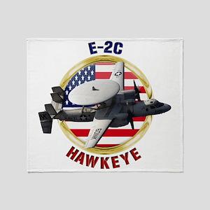 E-2C Hawkeye Throw Blanket