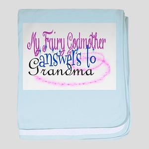 Fairy Godmother Grandma Baby Blanket