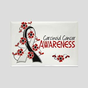 Carcinoid Cancer Awareness 6 Rectangle Magnet
