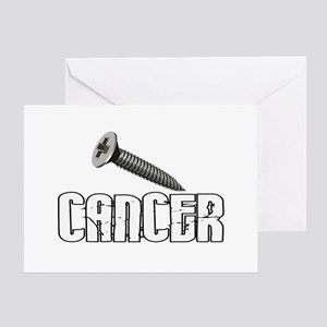 Screw Carcinoid Cancer 1C Greeting Card