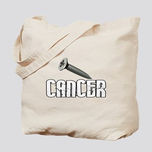 Screw Carcinoid Cancer 1C Tote Bag