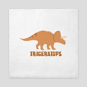 Triceratops Queen Duvet