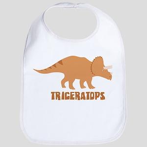 Triceratops Bib
