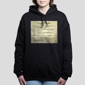 August 10th Hooded Sweatshirt