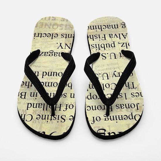 August 9th Flip Flops