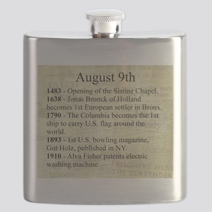 August 9th Flask