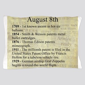 August 8th Pillow Case