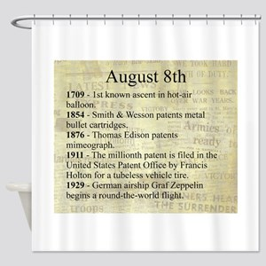 August 8th Shower Curtain
