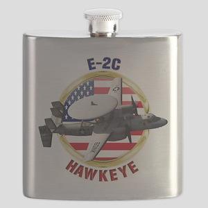 E-2C Hawkeye Flask