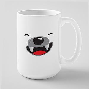 Cute puppy dog face Mugs