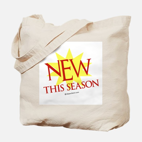 New this season  Tote Bag