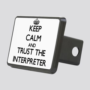 Keep Calm and Trust the Interpreter Hitch Cover
