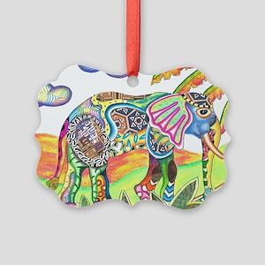 Elephant Picture Ornament