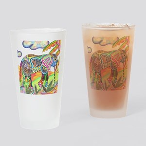 Elephant Drinking Glass