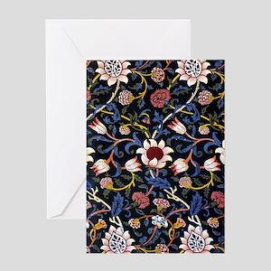 William Morris Evenlode Greeting Cards