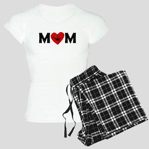 Dancing Heart Mom Pajamas