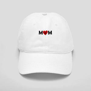 Dancing Heart Mom Baseball Cap