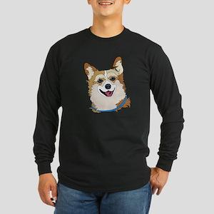 Welsh Corgis Long Sleeve Dark T-Shirt