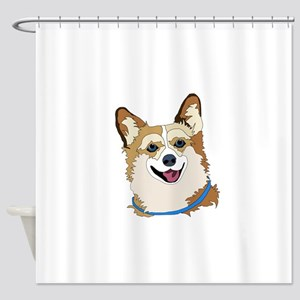 Welsh Corgis Shower Curtain