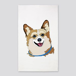 Welsh Corgis 3'x5' Area Rug