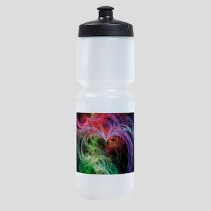 Space Hearts Sports Bottle