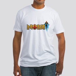 Nova Design 1 Fitted T-Shirt