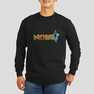 Nova Design 1 Long Sleeve Dark T-Shirt