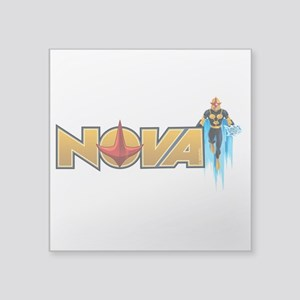 "Nova Design 1 Square Sticker 3"" x 3"""