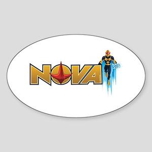 Nova Design 1 Sticker (Oval)