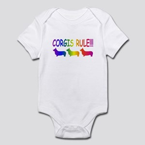 Corgi Infant Bodysuit