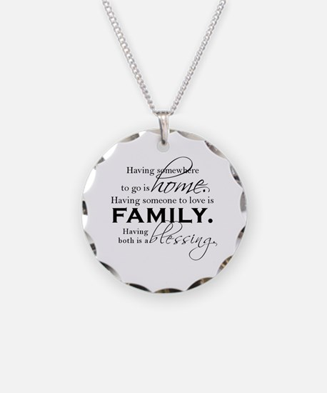 Having both is a blessing. Necklace